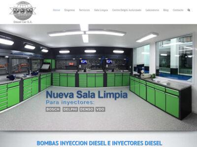 Posicionamiento web DSM Diesel - Seoweb